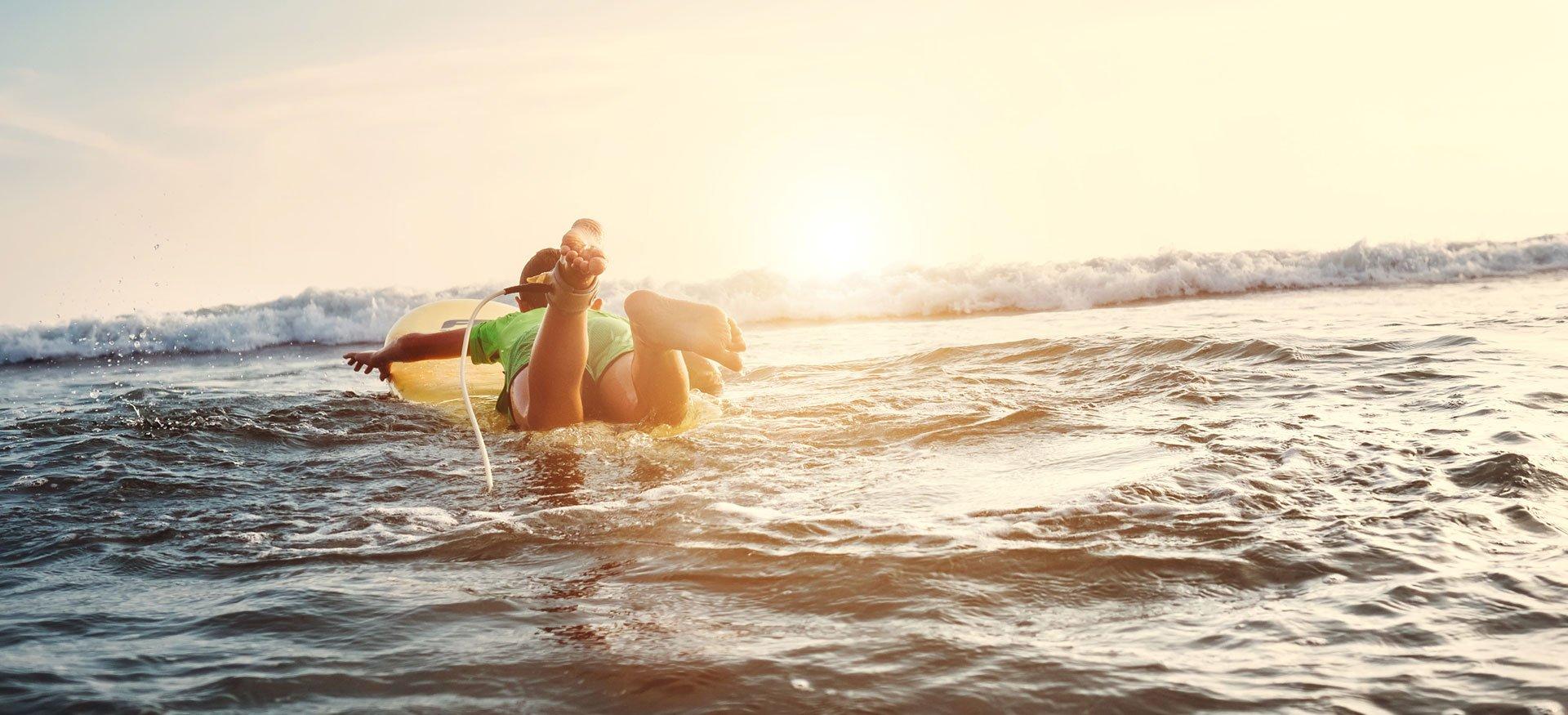colonie de vacances a la mer